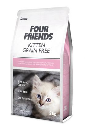 Four Friends Pet Foods launch purrfect food for cats.