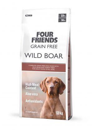 Grain Free Wild Boar & Turkey Dog Food