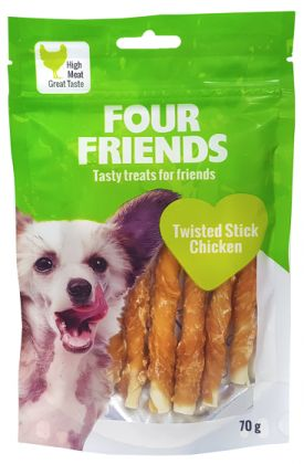 Chicken N' Rawhide Dog Treats