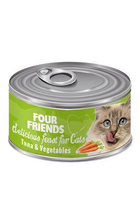 Tuna & Vegetable Cat Food