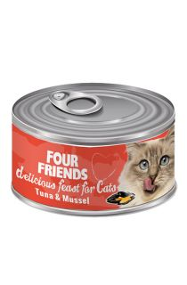 Tuna & Mussel Cat Food
