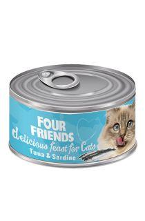Tuna & Sardine Cat Food