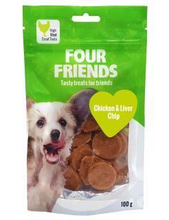 Chicken N' Liver Chip Dog Treat